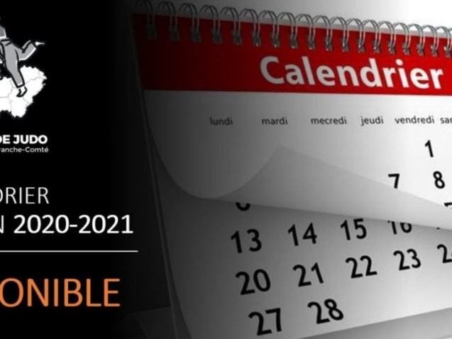 calendrier BFC
